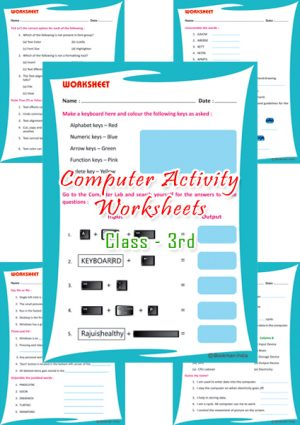 Computer Activity Worksheets
