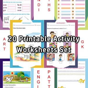 UKG Worksheets Set – Bookman India